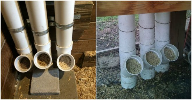 How To Make Diy Pvc Chicken Feeder How To Instructions