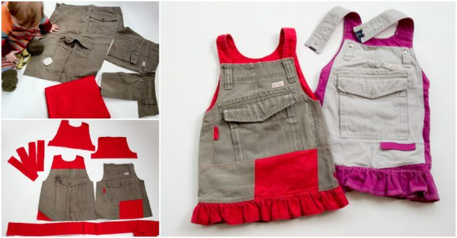 how-to-recycle-cargo-pants-into-a-toddlers-skirt