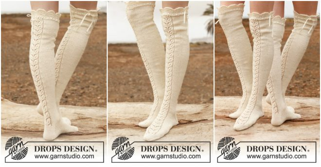 lace-stockings-knitting-pattern
