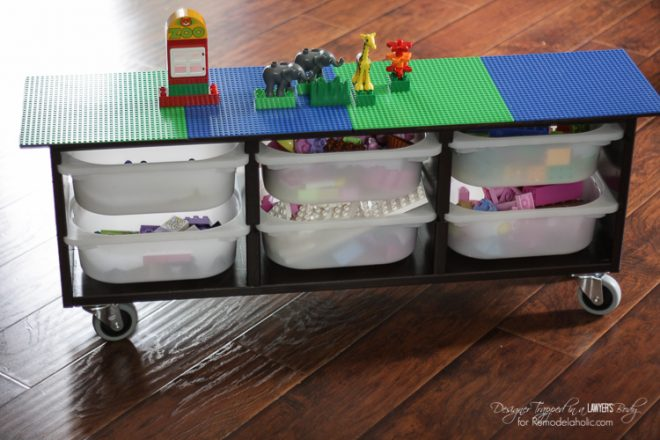 How to build a easy rolling diy lego table how to instructions more diy ideas solutioingenieria Image collections