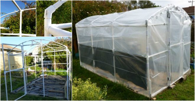 how to build a pvc greenhouse how to instructions