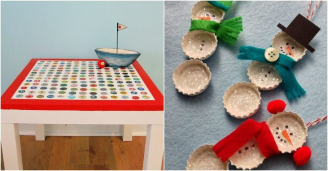 Fun crafts you can make with recycled bottle caps how to for How to make bottle cap crafts