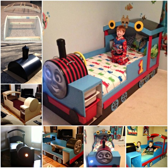 Thomas The Train Bed Instructions