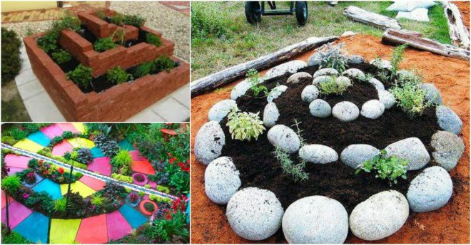 how to build herb spiral