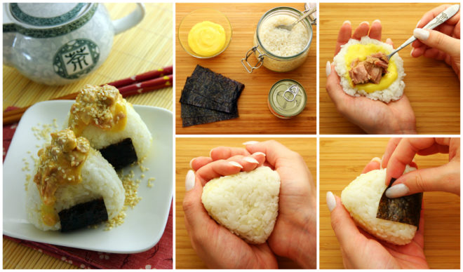 how to make japanese rice balls at home