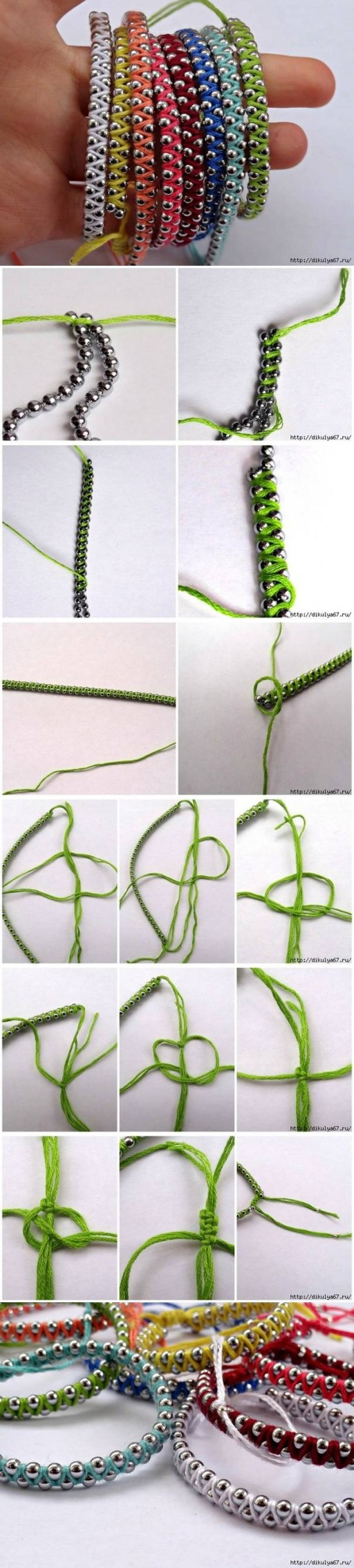 how to make macrame bracelets step by step how to make rainbow friendship bracelets step by step diy 8981
