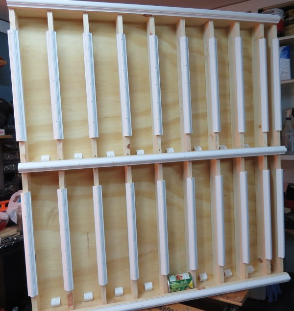 How To Make Rotating Canned Food Storage Racks Instructions