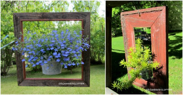 Landscape Ideas Framed Garden Pots