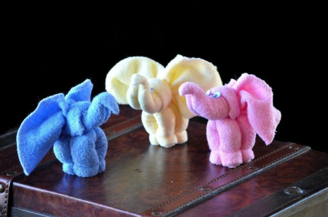 Washcloth Elephant